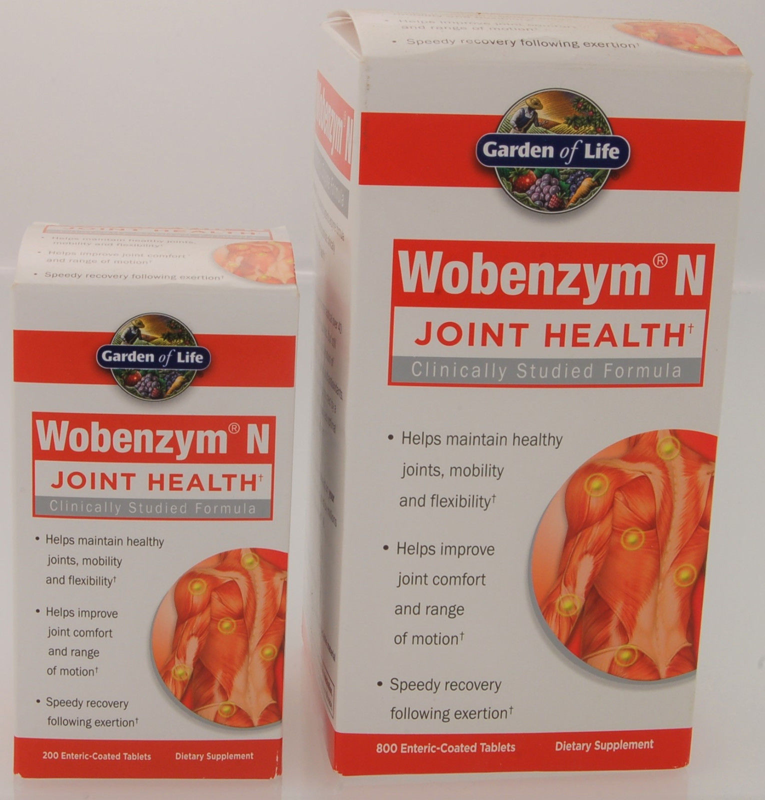 Wobenzym N Joint Health Dietary Supplement 800 or 200 Tablets – Your Choice