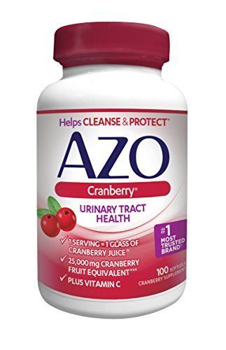 AZO Cranberry Urinary Tract Health Dietary Supplement* – 1 Serving = 1 Glass