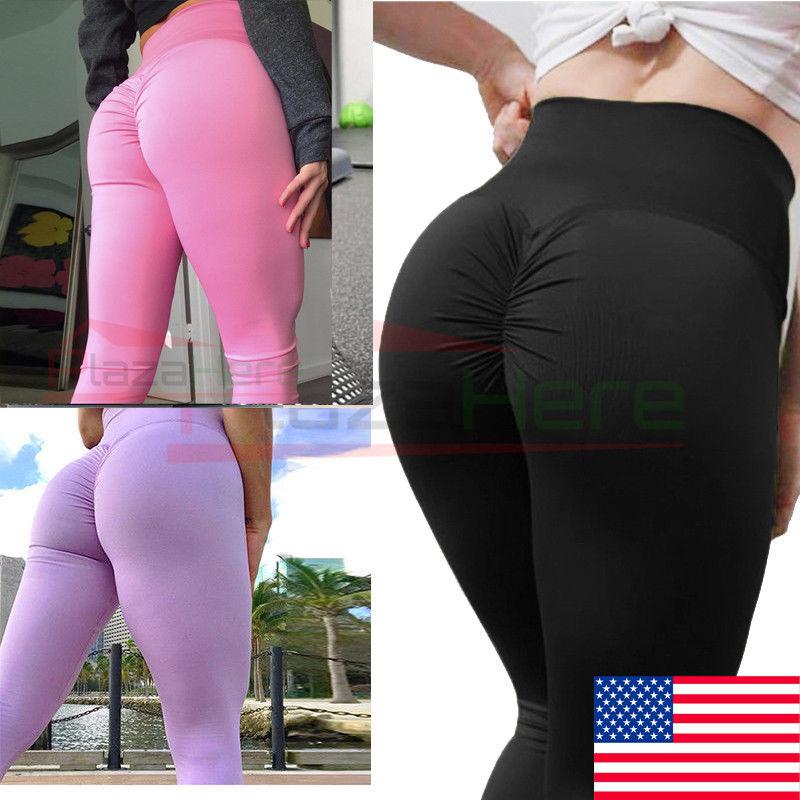Sexy women wearing yoga pants