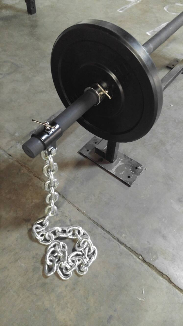 15lb 30lb Olympic Weight Lifting Chains Pair Barbell