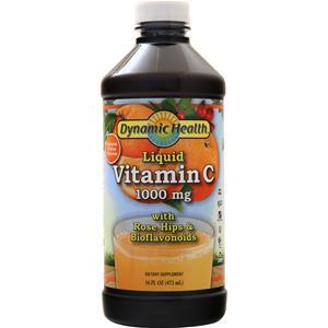 Dynamic Health Vitamin C Liquid (1000mg) Natural Citrus 16 fl.oz