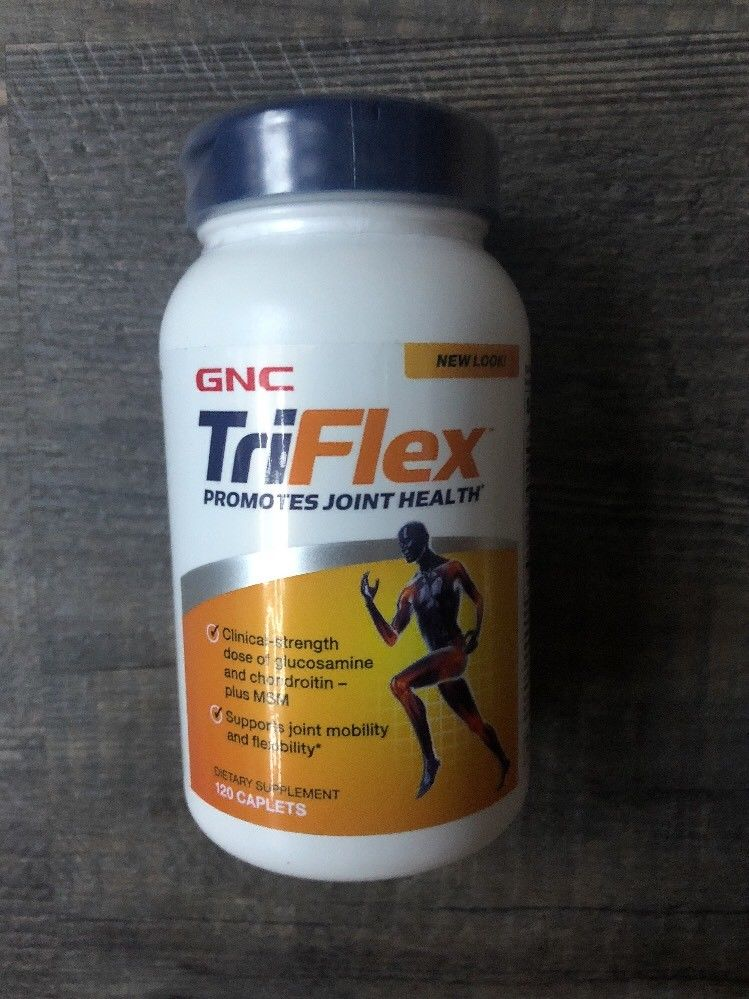 GNC TRIFLEX™ Joint Health 120 Tablets – Exp. 2020 – FREE SHIPPING